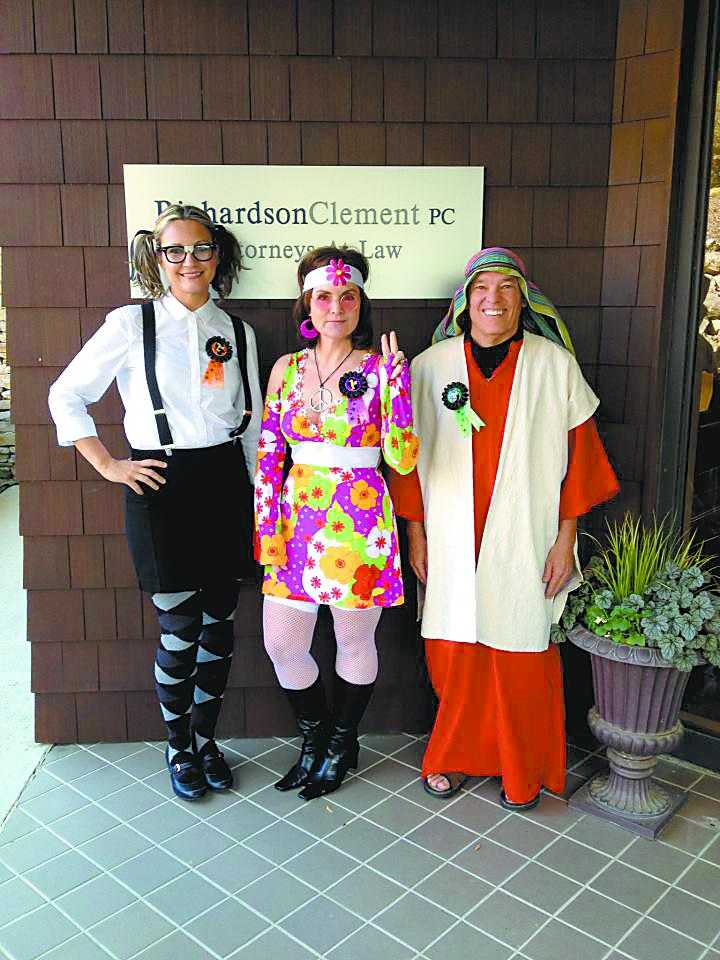 The top winners in RichardsonClement's inaugural halloween costume contest.