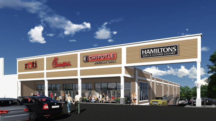 Retail Properties of America pays $31M for Leesburg Pike ... Golfsmith