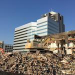 Demolition clearing the way for new Tanger Center for the Performing Arts