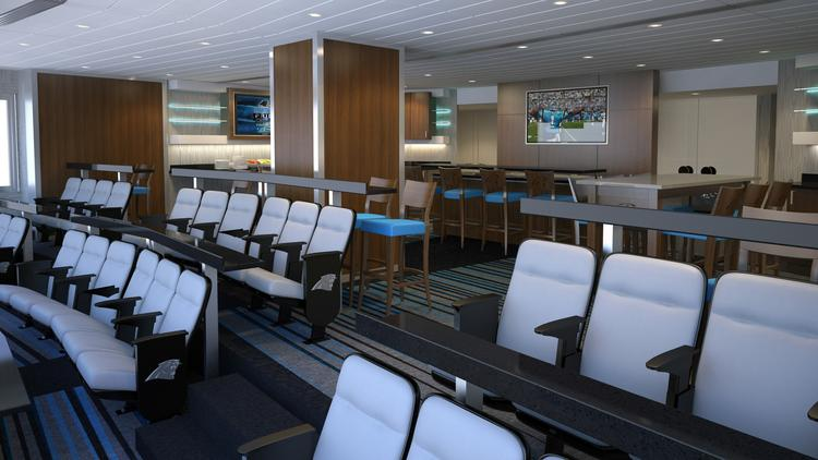 A Rendering Of The 51 Club, A Private Membership Area Opening In 2015 At  Bank