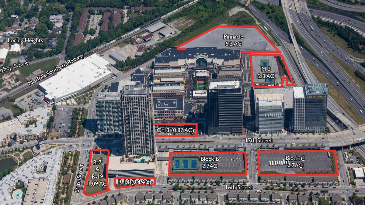 cbre global puts atlantic station u0026 39 s undeveloped land on