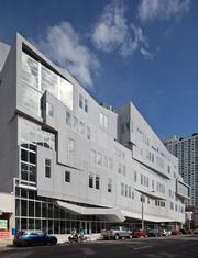 Zyscovich Architects designed the Miami Dade College Wolfson Campus Student Support Center