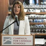 Business heavyweights turn out for Catholic schools event headlined by CBS's Norah O'Donnell