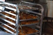 Paulette Bakery Owner Janna Gustin's croissants are loaded and ready for the morning rush.
