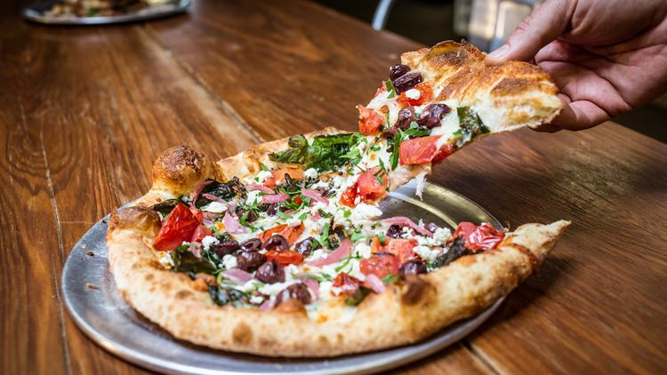 The menu at Pure Pizza in Plaza-Midwood will feature pizza, salads and sandwiches.