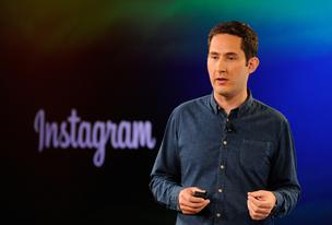 Kevin Systrom, chief executive officer and co-founder of Instagram Inc., speaks during an event at the Facebook Inc. headquarters in Menlo Park, California, on June 20, 2013.