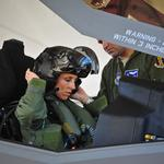 Should we care about the first female F-35 pilot? Yes. Here's why.