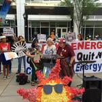 Sharp words and a surprising vote at Duke Energy's shareholder meeting