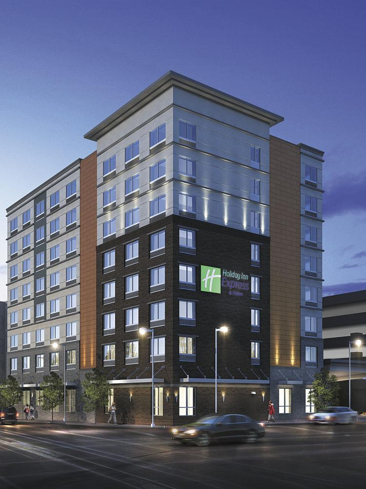Early 2016 Finish Expected For Downtown Holiday Inn