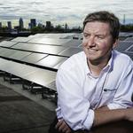 Dan Hofman sees bright solar future in telling customers of savings