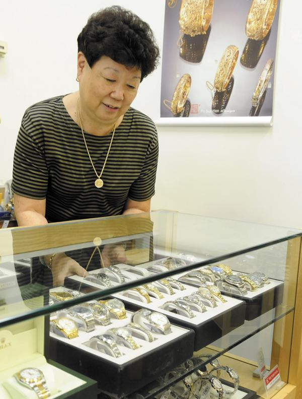 Marjorie Nishimura, owner of Margie's Jewelers, has been in the jewelry business in Downtown Honolulu for more than three decades.