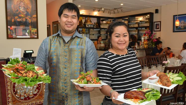 Phayvanh Chaleunxay And Her Son Vinson Serve Up Their Most Por Dishes At