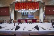 The private dining room at Ditka's.