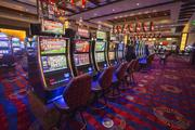 There are more than 950 slot machines in the casino.