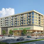 Developer to launch Houston's first luxury apartment-grocery midrise
