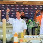 Denver Broncos to throw highbrow tailgate party for food bank