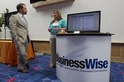 Business Wise had a booth at the Women's Wellness Expo.