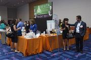 Here is the Revita booth at the Women's Wellness Expo.