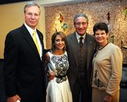 Bud Peterson, from left; Angie Macuga, Arthur Blank and Val Peterson at the U.S. Holocaust Memorial Museum's 2012 Atlanta Tribute Dinner last November.