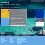 United Airlines comes up with new website that pushes personalization