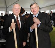 Gov. Nathan Deal with Tom Cousins.