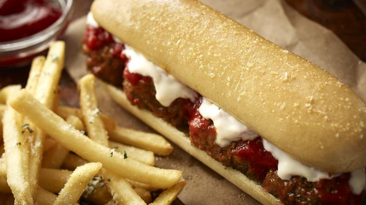 new menu items like the breadstick sandwich have helped boost olive gardens sales - Olive Garden Orlando