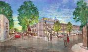 Overton Square concept drawings of Florence Avenue by LRK