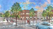 Overton Square concept drawings of Trimble Avenue by LRK