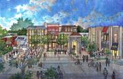 Overton Square concept drawings by LRK