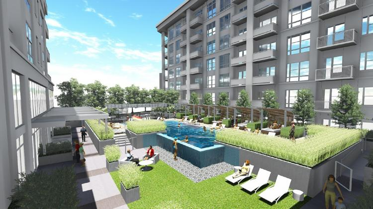 Gables Residential unveils luxury digs in Uptown to would-be ...