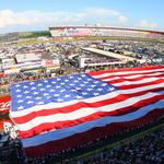 How a local Army veteran got in on the action at the Bank of America 500 (Video)