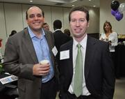Basil Khalil of FedEx Express and Ryan Shea of Right Management.