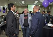 Nitin Motwani of Miami Worldcenter, Richard Montes de Oca of MDO Partners and  Chris Drew of HFF.