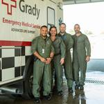 Transport team honored for  safe movement of Ebola patient
