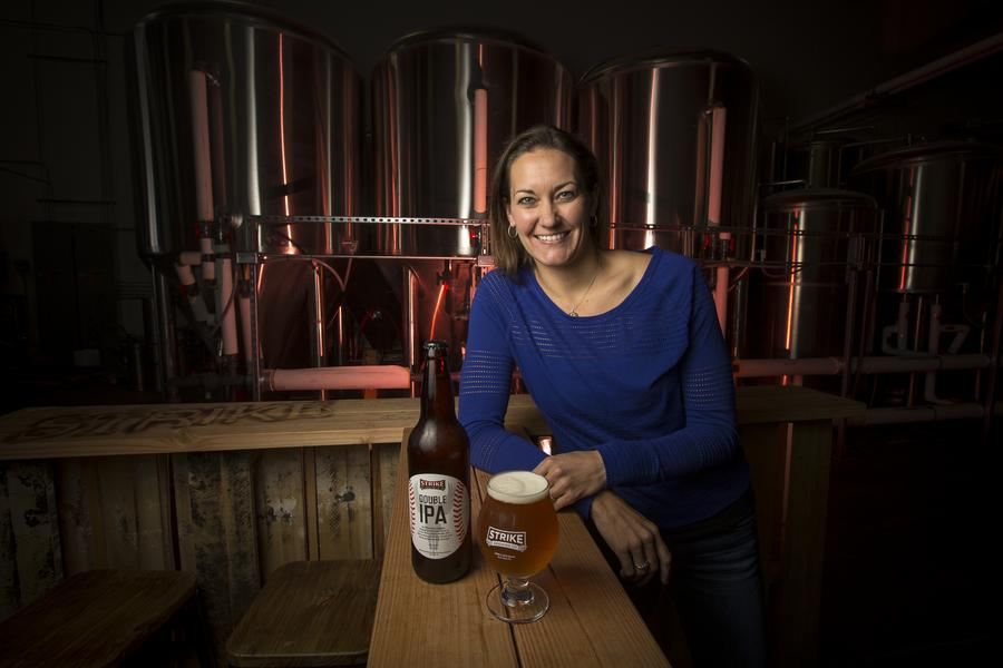 CEO Jenny Lewis grew Strike Brewing Co from a contract brewer to a taproom and brewery Silicon Valley Business Journal