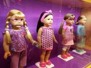 Doll accessories include everything from sports gear to musical instruments to items like glasses, retainers and hearing aids, befitting the brand's desire to create diverse and inclusive dolls appealing to all girls.