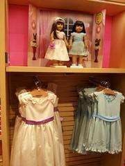 Kids can buy matching outfits for themselves and their dolls.