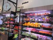 The market and deli combines fresh produce, meats, cheese and pastries with a deli concept.