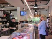 The new Wagshal's has the original's signature butcher department.