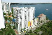 The Crimson - Residences on Biscayne Bay that International Design Engineering Architect (IDEA) designed will have 90 units. The developer is Stephan Gietl and Fernando Levy Hara's mckafka Development Group.