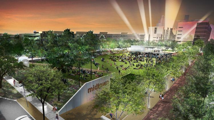 The Midtown Redevelopment Authority Plans To Hold A Groundbreaking Ceremony  For Midtown Park U2014 The Site