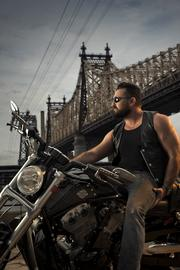 Chris Salgardo leads the LifeRide charity motorcycle ride every year to raise money for AIDS awareness. This year's ride is July 31 to Aug. 8 from Seattle to Los Angeles.