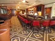 The new bar and lounge area at the Palm Restaurant in Houston
