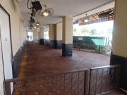 Outdoor seating area at the newly renovated Palm Restaurant Houston.