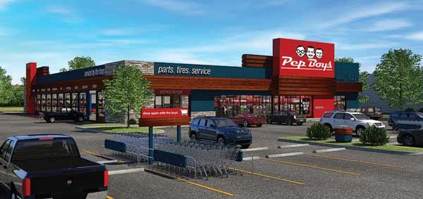Pep Boys is launching its very first redesigned store in the nation in Tampa.