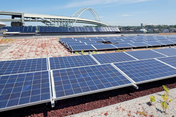 Solar companies saw some lift from President Barack Obama's climate change speech on Tuesday.