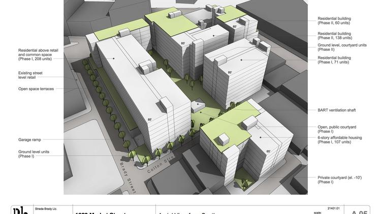 Strada Investment Group Pitches 584 Unit San Francisco Project That