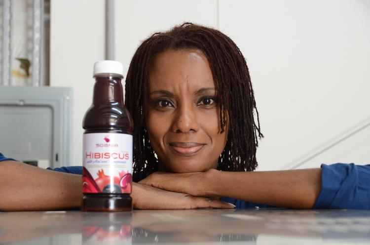 Daisy Gray is a Seminole State College student and entrepreneur with her own hibiscus drink company.