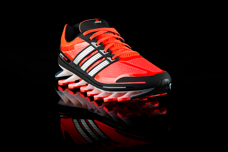 The Springblade is a futuristic new running shoe from Adidas.