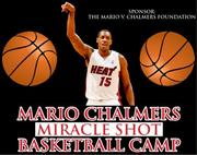 Two spots are up for grabs to Mario's Miracle Shot Basketball Camp, which takes place July 22 through July 25. For a complete list of items up for grabs, go to the campaign's website.